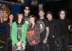 Ryan and Nicki with Motionless in White
