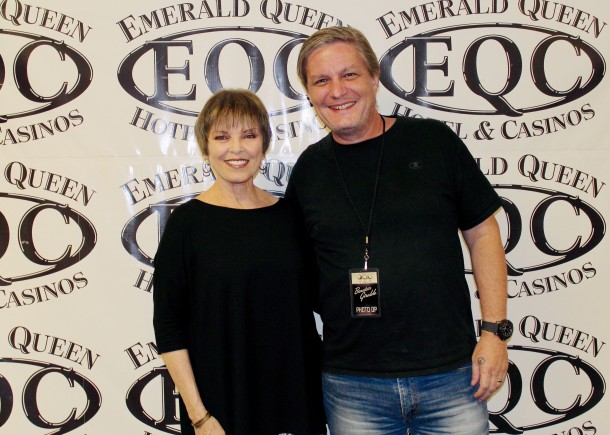 Pat benatar emerald queen casino tacoma wa august 3rd 2018 pat but unfortunately neil was a no show for the meet and greet for what was likely his cold anyway below is a pic of me with her prior to the show m4hsunfo
